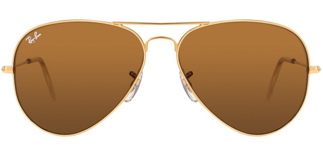 d333c1c8f9392 Ray-Ban RB3025 L9797 Size 58 Golden Brown Aviator Men s Sunglasses ...