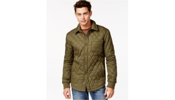 f10c20391b40 American rag Shelly Quilted Jacket in Green for Men (Greenbrook)