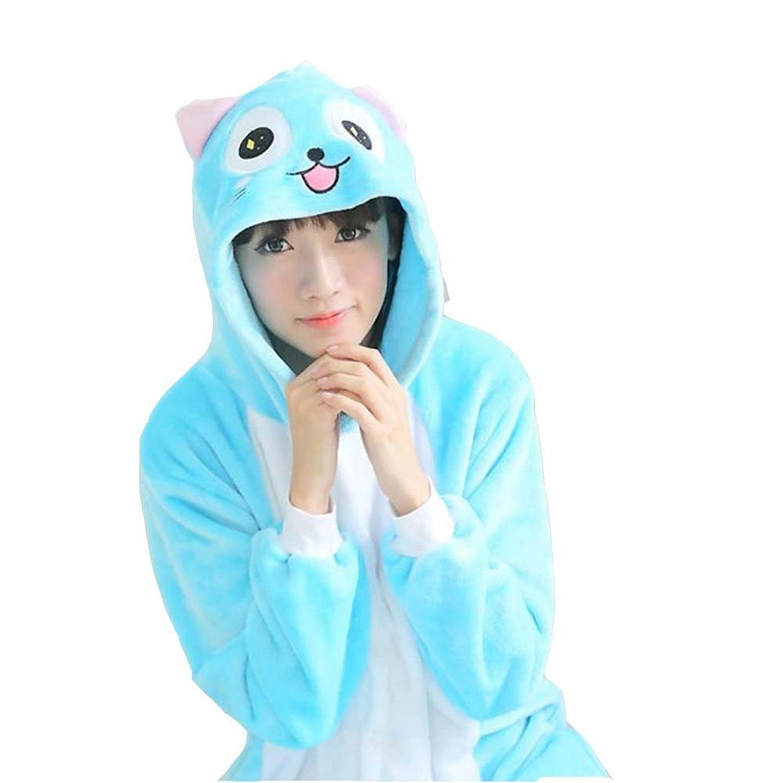 Amazon.com  XMiniLife® Happy Adult Kids Pajamas Onesie Fairy Tail Costume   Clothing 201da33204