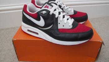 size 40 b84aa c22a3 Nike Air Max 1 Light - Black White Varsity Red Grey OG 315827-011 -