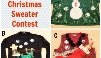 our secondhand house vote in our ugly christmas sweater contest - Childrens Ugly Christmas Sweaters